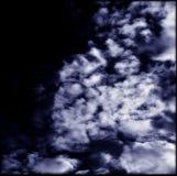 blå drömlik sky Royaltyfria Bilder