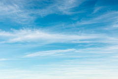 blå drömlik sky Royaltyfri Foto