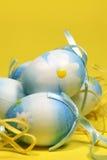 blå easter äggblomma Arkivfoto