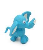 blå elefant Royaltyfri Foto