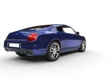 Blå elegant bil Royaltyfria Bilder