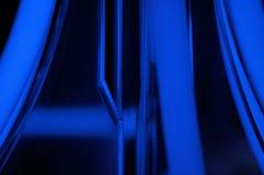 blå elkraft Royaltyfria Foton
