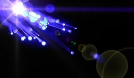 blå energi Arkivfoton