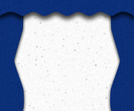 blå etapp Royaltyfri Foto