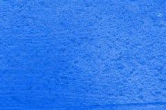 Blå färgrik sjaskig modell av åldrigt trä som kan användas som bakgrundsmodell Royaltyfria Foton