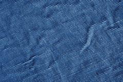 Blå färgtextilmodell Fotografering för Bildbyråer