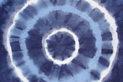 blå färgtie Royaltyfria Bilder