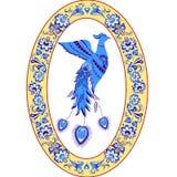Blå fågel Arkivbild