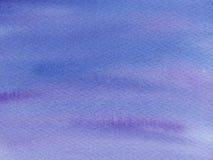 blå för abstrakt vattenfärg våt och purpurfärgad bakgrund Vattenfärgen tvättar sig med ombre royaltyfri illustrationer