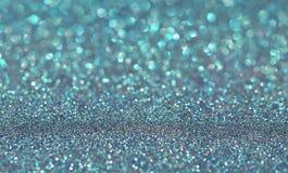 Blå ferie blänker bakgrund Royaltyfri Fotografi