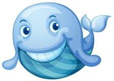 Blå fisk Royaltyfria Bilder
