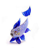blå fisk Arkivbilder