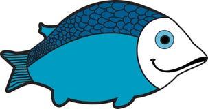 blå fisk Arkivfoton