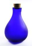 blå flaska Arkivfoton