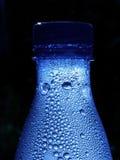 blå flaska Royaltyfri Fotografi