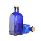 Blå flaska Royaltyfri Foto