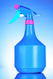 blå flaskspray Royaltyfria Bilder