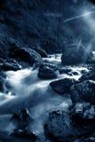 blå flod Royaltyfri Foto