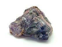 Blå Fluorite Royaltyfri Foto