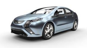 Blå fusionbil Royaltyfri Fotografi