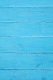 Blå gammal träbakgrundstextur Arkivbild