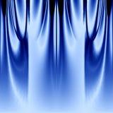 blå gardin arkivbilder