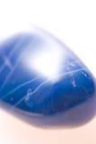 blå gem Fotografering för Bildbyråer