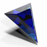 blå gem Arkivfoto