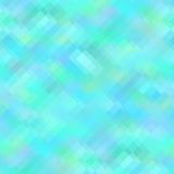 Blå geometrisk bakgrund, sömlös modell Royaltyfria Foton