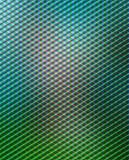blå geometrisk green Royaltyfri Fotografi