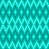blå geometrisk modell Royaltyfria Bilder