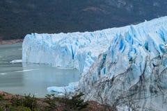 Blå is glaciar Perrito Moreno Royaltyfri Bild