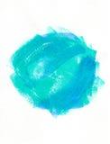 Blå gräsplan för abstraktion Arkivfoton