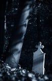 blå gravestone arkivbilder