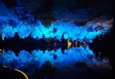 blå grotta arkivbilder