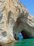 Blå grotta. Royaltyfri Fotografi