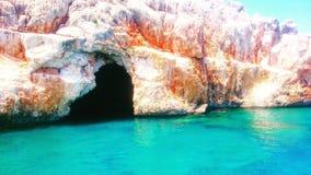 blå grotta Fotografering för Bildbyråer
