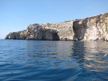 blå grotto Arkivbilder