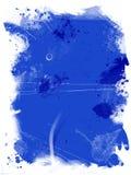 blå grunge Arkivbild