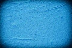 Blå grungebakgrund Fotografering för Bildbyråer