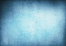 Blå Grungebakgrund Arkivfoto