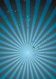 blå grungelampa utstrålar royaltyfri illustrationer