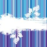 blå grungepurple för bacground Stock Illustrationer