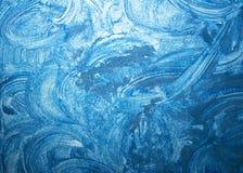 blå grungetextur Royaltyfria Foton