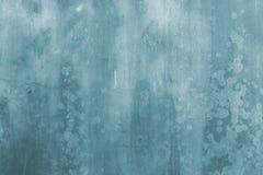 blå grungevägg för abstrakt bakgrund Royaltyfria Bilder
