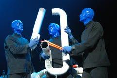 blå gruppmankapacitet arkivfoto