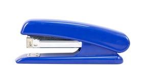 blå häftapparat Royaltyfri Foto