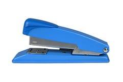 blå häftapparat fotografering för bildbyråer