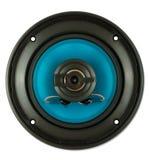 blå högtalare Arkivbilder
