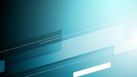 Blå högteknologisk rörelsestilbakgrund